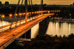 Freiheitsbrücke Novi Sad Lizenzfreie Stockfotos