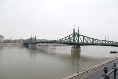 Freiheitsbrücke von Budapest Lizenzfreie Stockbilder
