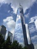 Freiheitskontrollturm in New York City stockfotos