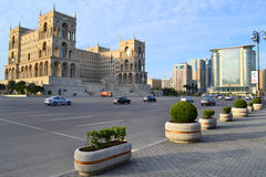 Freiheitsquadrat in Baku Lizenzfreie Stockfotografie