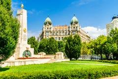 Freiheitsquadrat in Budapest - Ungarn Lizenzfreies Stockbild