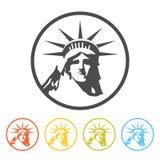 Freiheitsstatue Ikone, Lizenzfreie Stockbilder