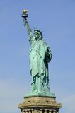 Freiheitsstatue im New- Yorkhafen Stockbilder