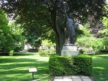 Freiheitsstatue in Jardin DU Luxemburg Stockbilder