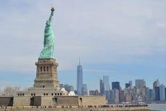 Freiheitsstatue, New York Lizenzfreie Stockfotos
