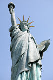 Freiheitsstatue, Paris Lizenzfreie Stockfotos