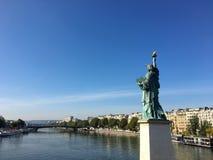 Freiheitsstatue Paris Frankreich Lizenzfreie Stockfotografie