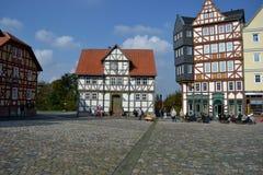 Freilichtmuseum de construção velho Hessenpark, Alemanha Fotografia de Stock