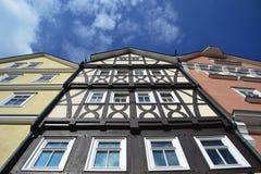Freilichtmuseum de construção velho Hessenpark, Alemanha foto de stock royalty free