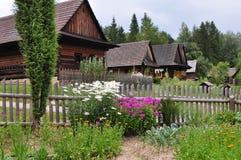 Freilichtmuseum Roznov Lizenzfreies Stockbild