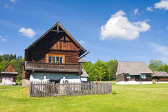 Freilichtvolksmuseum, Slowakei Lizenzfreie Stockfotografie