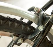 Frein de calibre de bicyclette photo stock