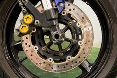 Frein de roue de moto Images stock