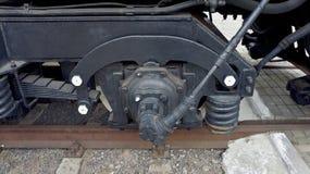 Frein locomotif Image libre de droits