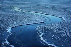 Freinage de la glace Image libre de droits