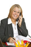 Freindly Businesswoman Royalty Free Stock Photo