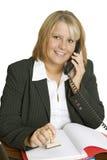 Freindly Businesswoman Royalty Free Stock Photo