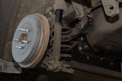 Freio de cilindro de um carro imagens de stock