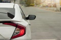 Freio dos carros na estrada Imagem de Stock Royalty Free