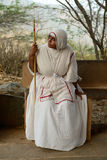 Freira Jain na Índia Imagem de Stock Royalty Free