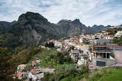 Freiras de Curral das - valle de las monjas, Madeira. Fotos de archivo libres de regalías