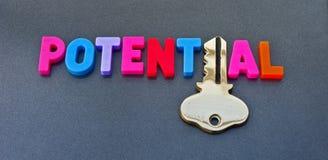 Freisetzen Ihres Potenzials Stockbild