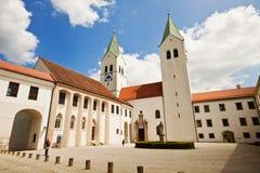 Freising, de Kathedraal van Duitsland - Freising- Stock Foto's