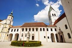 Freising, de Kathedraal van Duitsland - Freising- royalty-vrije stock afbeelding