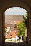 Freising, old town in Bavaria, city view Stock Photography