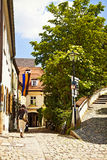 Freising, old town in Bavaria, city view Stock Image