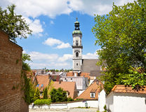 Freising, old town in Bavaria, city view Royalty Free Stock Photo