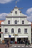 Freising, old town in Bavaria, house in  Renaissance style Stock Photography