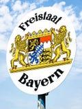 Freistaat Bayern Royalty Free Stock Photo