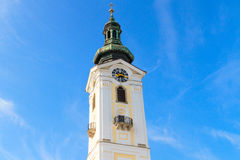 Freistadt Baroque Church, Austria Stock Images