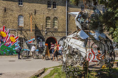 Freistadt Christiania Stock Photography