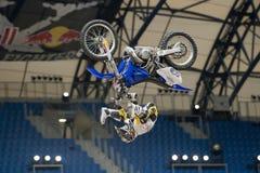 Freistil-Motocross Stockfotografie
