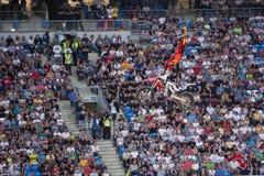 Freistil-Motocross Lizenzfreies Stockfoto