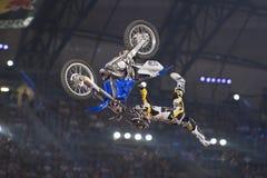 Freistil-Motocross Stockbild