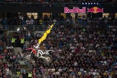 Freistil-Motocross Stockfoto