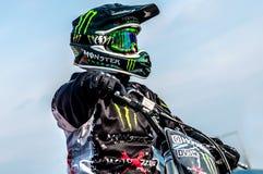 Freistil Motocross - Petr Kuchar Stockfotografie