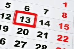 Freitag das 13. Lizenzfreies Stockbild