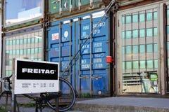 Freitag shop in Zurich, Switzerland Stock Image
