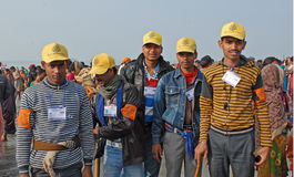 Freiwillige Aufgabe lizenzfreie stockbilder