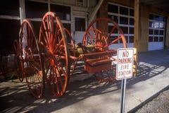 Freiwillige Feuerwehr in Jerome, AZ Stockfoto