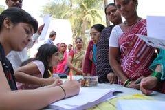 Freiwillige Hilfsgemeinschaft Stockbild