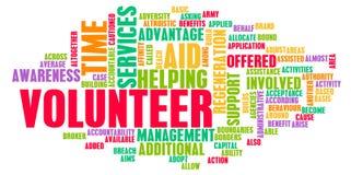 Freiwilliger stock abbildung