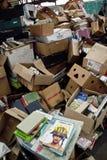 Freiwilliger von der Buch-Schleife, Großbritannien volutary lizenzfreie stockbilder