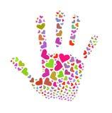 Freiwilliges Zeichen Lizenzfreies Stockfoto