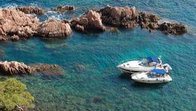 Freizeit-Boote Stockbild