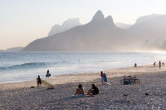 Freizeit in Rio de Janeiro Stockfotos